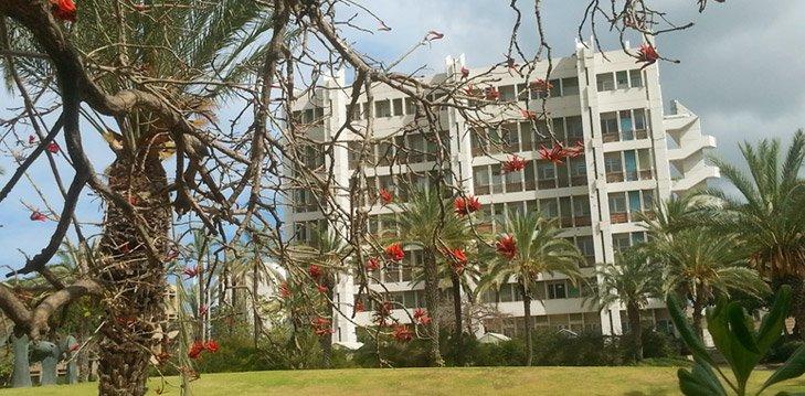 בניין הפקולטה למדעי החיים