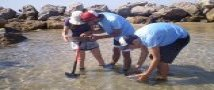 """סטודנטים לביולוגיה """"מגלים את הים"""" לתלמידי תיכון, בקורס של ד""""ר נועה שנקר מביה""""ס לזואולוגיה"""