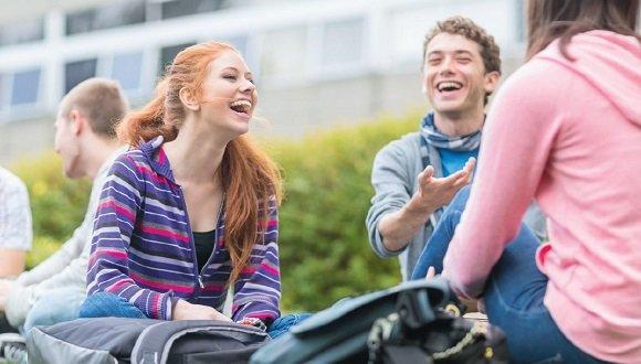 סטודנטים בקמפוס